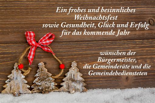 Frohe Weihnachten An Alle.Frohe Weihnachten Und Alles Gute Fur 2019 Marktgemeinde